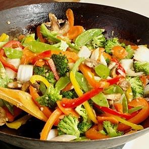 Légumes et riz